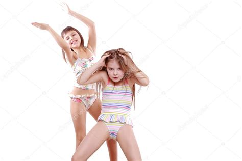 little young female models little girls in a swimsuit stock photo 169 mari1photo