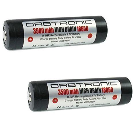 Panasonic 18650 Li Ion High Drain Hybrid Imr Battery 2900mah 36v With 3500mah 18650 high drain orbtronic 3 7v li ion rechargeable batteries flat top hybrid imr