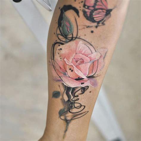 soft tattoo designs painterly tattoos by aleksandra katsan pink tattoos