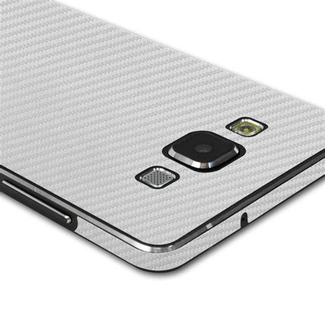 Samsung A5 Silver skinomi techskin samsung galaxy a5 silver carbon fiber skin protector