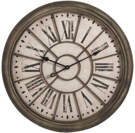 horloge murale antique horloge murale anc 234 tre en m 233 tal 68x6cm sur jardindeco d entr 233 e vintage