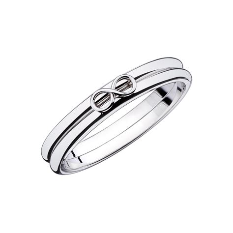 white and gold l ring quot l infini quot white gold mauboussin singapore