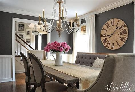 dark gray dining room paint colors french dining room