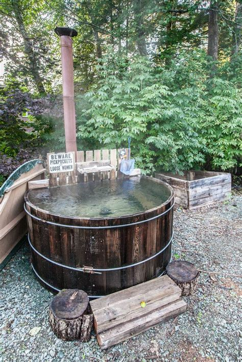 wood hot tub 9 best images about wood fired hot tub on pinterest