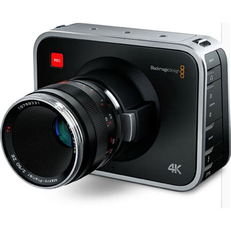 blackmagic design blackmagic production camera 4k pro