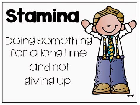 printable stamina poster book talk tuesday building our stamina the