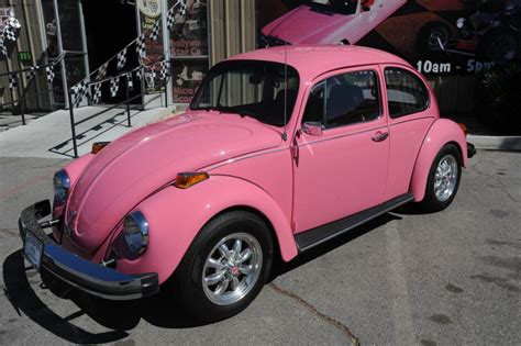 pink volkswagen beetle for sale 1977 pink volkswagen beetle showcar for sale