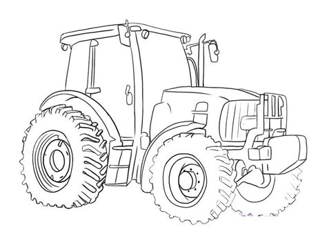 deere tractor coloring page 25 best tractor coloring pages to print