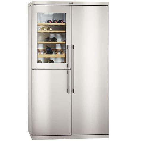 Home Wine Cellar Design Uk s95800xtm0 perfektfit fridge freezer from aeg american