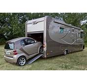 Camping Car Avec Garage Voiture Occasion 30257  Id&233es