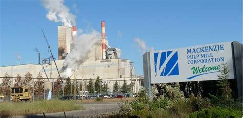 pulp paper aaf international home mackenzie pulp mill corporation