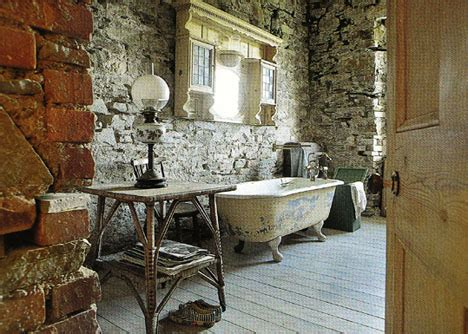 Antique Bathrooms Designs by Vintage Bathroom Interior Evokes Faux Retro Nostalgia