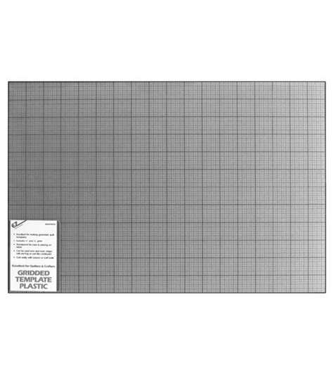 quilter s gridded plastic template 12 quot x18 quot at joann com