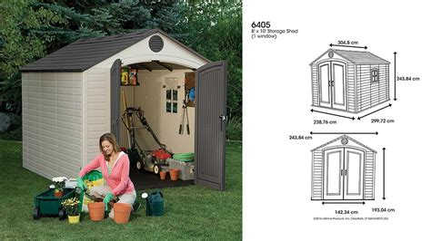 lifetime     ft outdoor storage shed cool