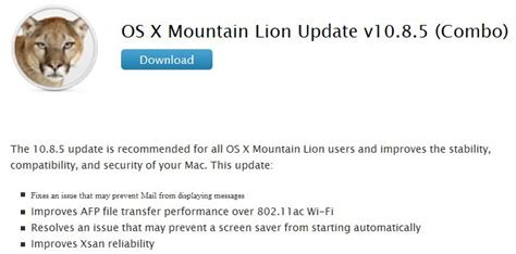 Resume Mac Os X Mountain by Direct Links For Apple Os X Mountain Update