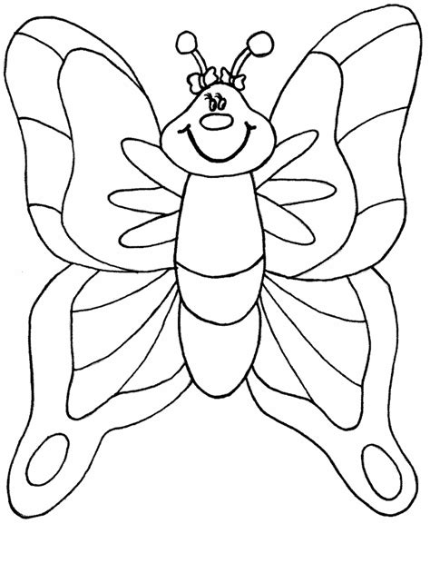 Coloring Page For Butterfly | butterflies coloring pages coloring pages to print