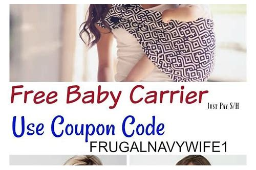 nova baby carriers coupon