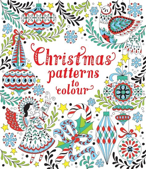 christmas pattern to colour christmas patterns to colour at usborne children s books