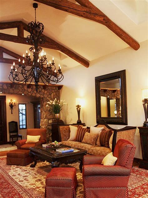 spanish style living room living room spanish style design homesfeed