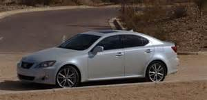 az 2007 lexus is250 rwd 24 500 mi navigation glacier