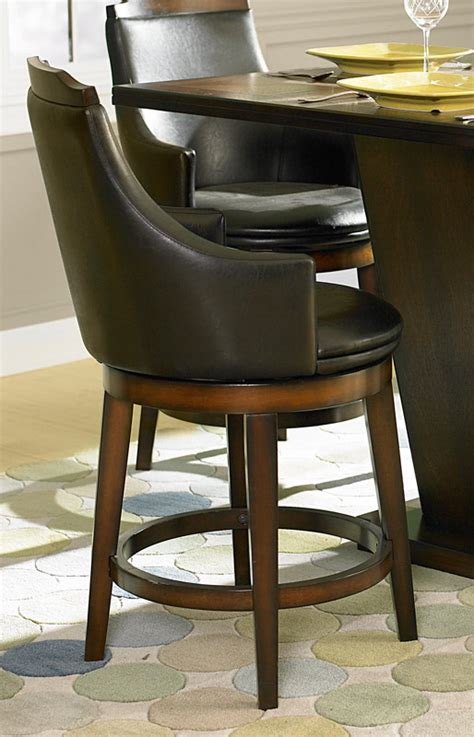 counter height table with swivel chairs bayshore swivel counter height chair barstools he 5447 24s 5