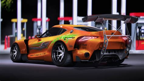 Fast And Furious Supra Kit by Liveries Of The Fast And The Furious Cars From 2001 Car
