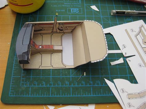 W124 Interior Colors by Mercedes W124 Paper Interior In Process By Sulikgt