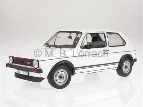 Weißes Auto by Vw Golf 1 Gti 1977 Wei 225 Modellauto 188484 Norev 1 18 Ebay