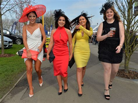 grand national 2015 ladies day at aintree racecourse in ladies day at aintree 2015 all the pictures as the