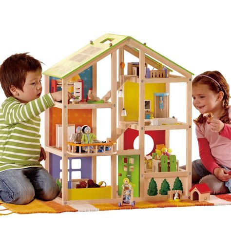 dolls houses for boys best wooden dollhouse hape all season review