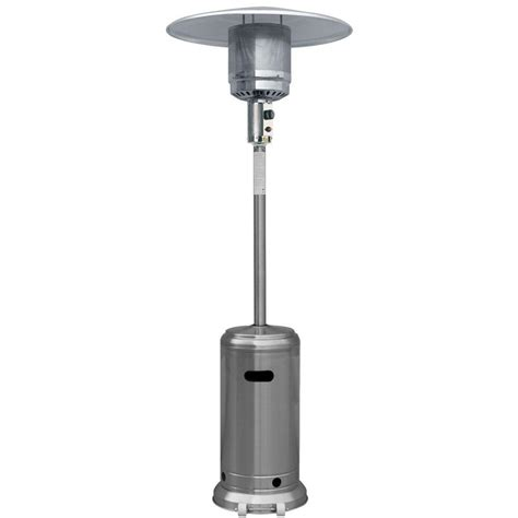 patio heater home depot garden radiance 41 000 btu stainless steel size