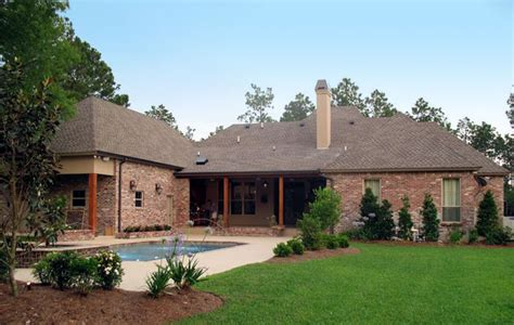 Country European House Plans by Roomy Country Home Plan 56367sm Acadian