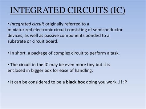 a complex integrated circuit consisting of millions of electronic parts is called what is a complex integrated circuit consisting of millions of electronic parts 28 images