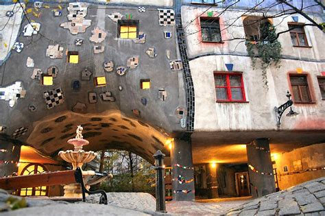 hundertwasser house hundertwasser house ii a photo from vienna east trekearth