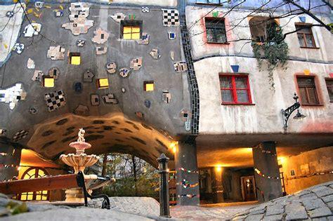 hundertwasser house hundertwasser house ii a photo from vienna east trekearth