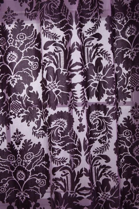 damask velvet burnout curtain damask velvet burnout curtain for my home pinterest
