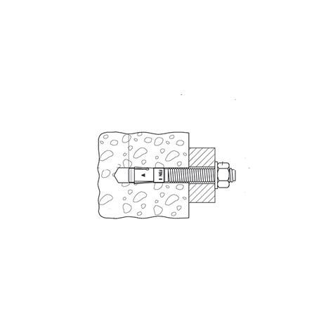 Goujon A Frapper 42 by Cheville Pour Fixation Dans Le B 233 Ton Brique Parpaing