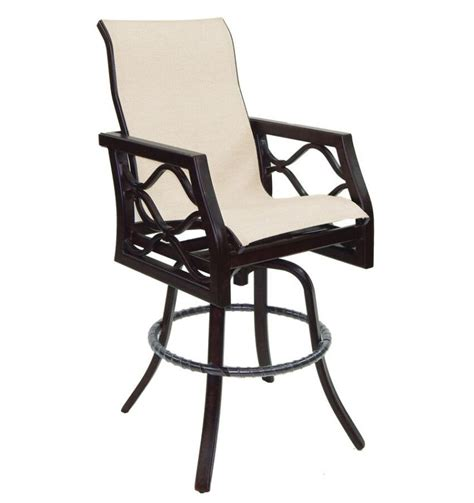 bar stools northern virginia northern virginia castelle villa bianca high back sling