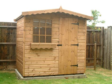 Garden Shed 7x5 by Bespoke Garden Sheds By Sheds Unlimited 7x5 Chalet