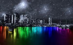 colorful cities colorful city vancouver by dazuki on deviantart