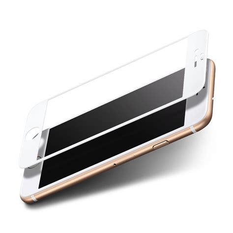 Fullglass 3d Curved Tempered Glass Iphone 6 curved tempered glass screen protector iphone 6s white