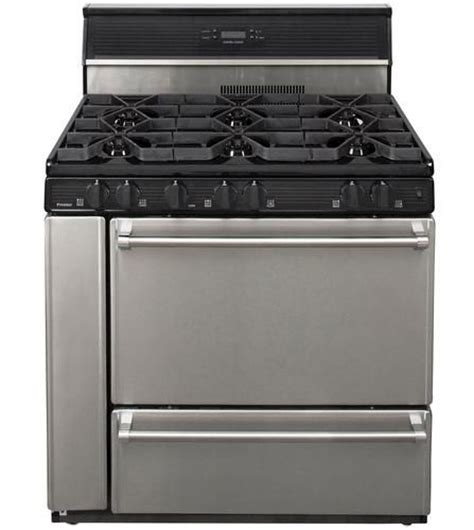 menards kitchen appliances premier pro series 3 9 cu ft 36 quot commercial style open