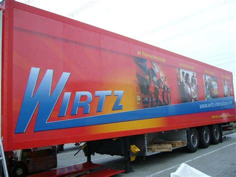 Motorrad Anh Nger Wirtz by First Place Werbe Marketingagentur Vollfolierung