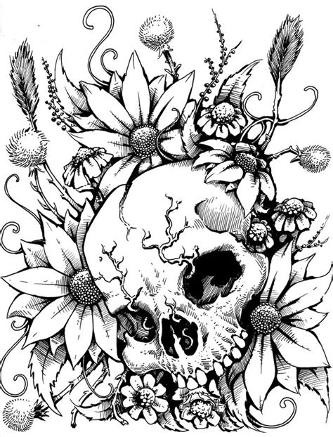 libro drawing flowers black and white drawing artsy libros para colorear bocetos y colorear