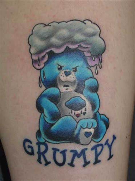 full body tattoo design care bear tattoos