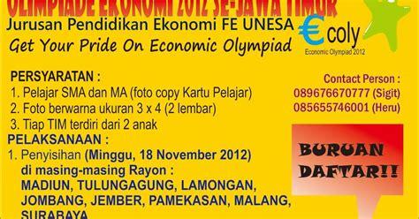 format artikel unesa economic olympiad 2012 ecoly