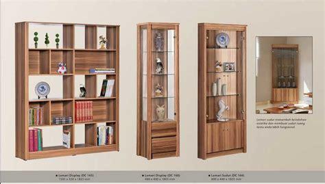 Lemari Olympic Ruang Tamu model lemari kaca display bahan kayu terbaru 2017 desain rumah unik