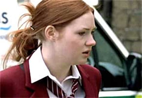 karen gillan school doctor who stars before they were famous anglophenia