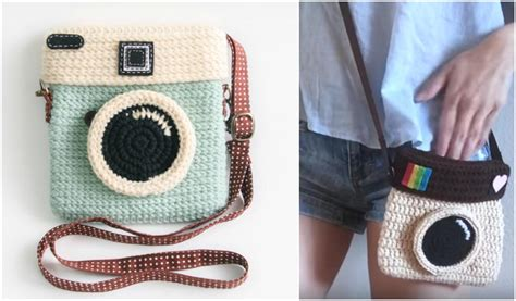 crochet camera bag pattern camera purse the best ideas free pattern your crochet