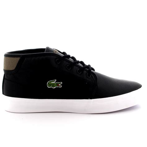 mens lacoste thill chunky sep spm shoes casual mid top